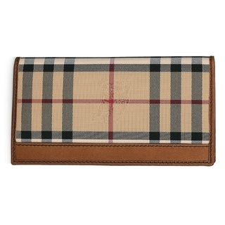 Burberry Men's Murphy Leather Horseferry Check Bifold Wallet