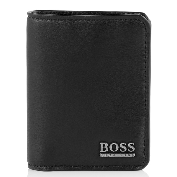 Hugo Boss Aloab Black Leather Wallet