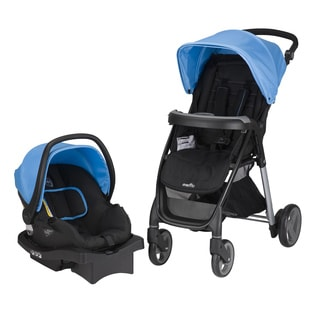 Evenflo Princeton Travel System with Serenade in Sky Blue
