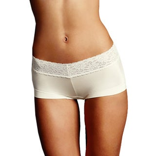 Maidenform Women's Dream Ivory Lace Boyshorts