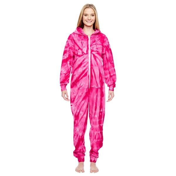 Women's Pink Cotton, Polyester Pajama Set
