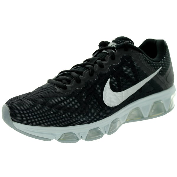 Nike Men's Air Max Tailwind 7 Black/Metallic Silver Running Shoe