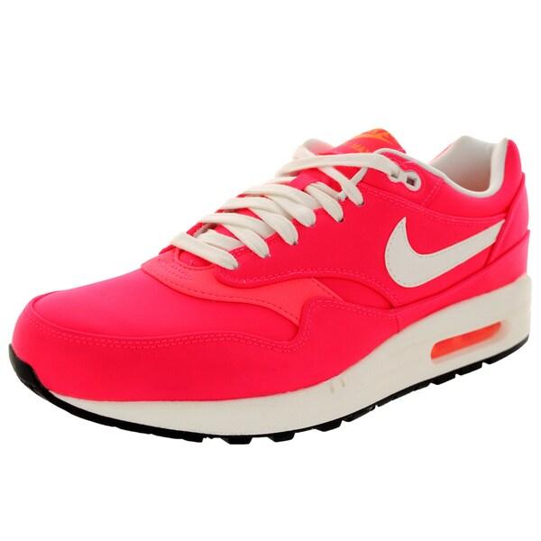 Nike Men's Air Max 1 Premium Qs Hyper Punch/Ivory/Total Orange Running Shoe