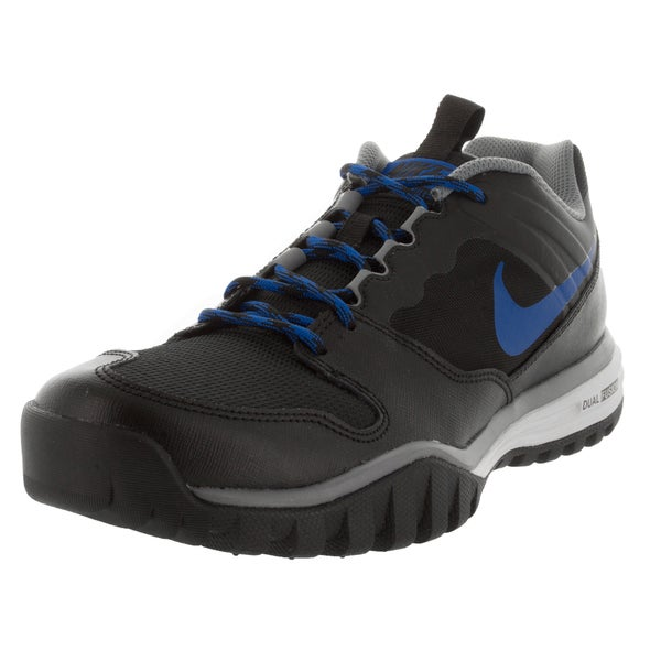 Nike Men's Dual Fusion Hills Black/Grey/Blue Training Shoes