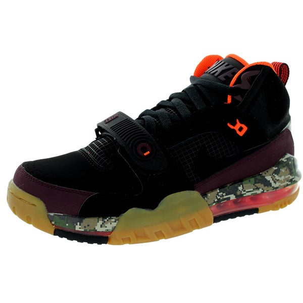 Nike Men's Air Max Bo Jax Prm Black/Black/Deep Burgundy/Crimson Training Shoe