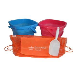 Packable Pails Collapsible Beach Pail (Set of 2)