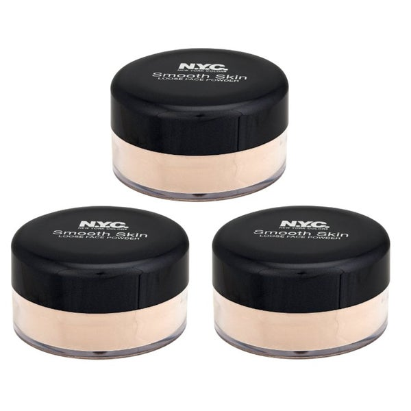NYC Loose Translucent Face Powder (Pack of 3)