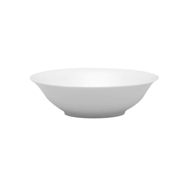 Red Vanilla White China Pasta Bowl (Set of 4)