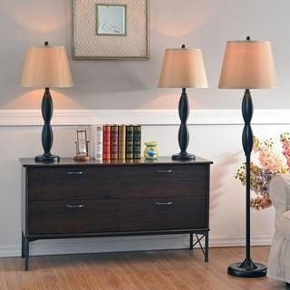 Armada 3-Pack Table and Floor Lamp