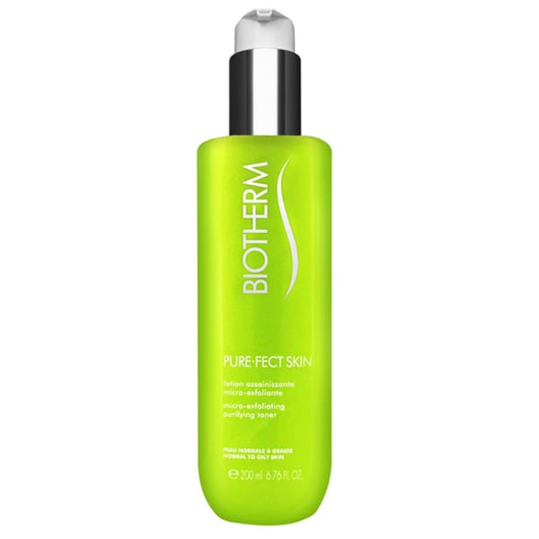 Biotherm Pure-Fect Skin Micro-Exfoliating Purifying 6.76-ounce Toner for Normal to Oily Skin