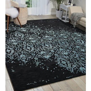 Nourison Opaline Midnight Blue Area Rug (8'6 x 11'6)