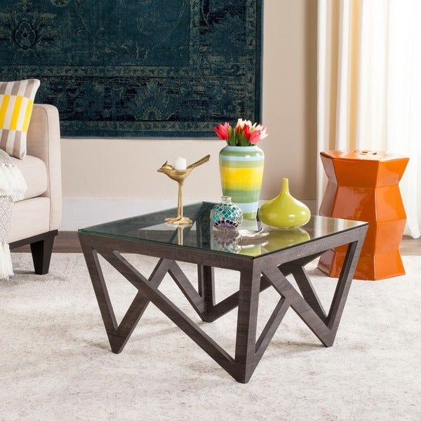 Safavieh Radley Dark Grey Coffee Table