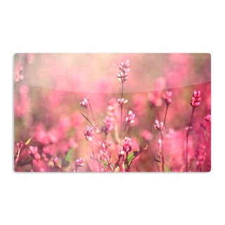 KESS InHouse Robin Dickinson 'Its a Sweet Sweet Life' Flowers Artistic Aluminum Magnet