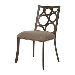 Villa Metro Brown Side Chair (Set of 2)