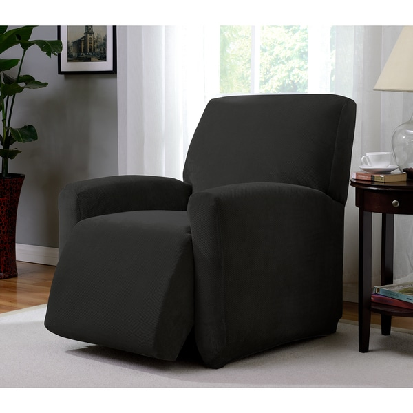 Stretch Pique Large Recliner Slipcover
