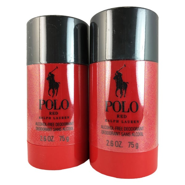 Ralph Lauren Polo Red Men's 2.6-ounce Deodorant Sticks (Pack of 2)
