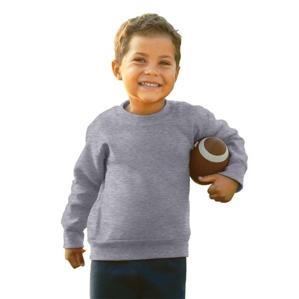Boys' Heather Fleece Sweatshirt