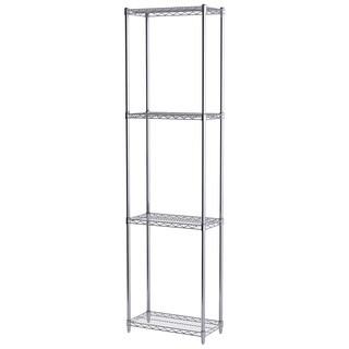 Akro-Mils 4-shelf 12-inch x 24-inch x 86-inch Wire Shelving Unit