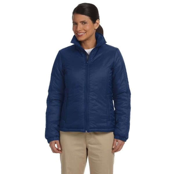 Women's Essential New Navy Blue Polyfill Jacket