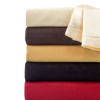 Hotel Collection Satin Solid Color Sheet Set