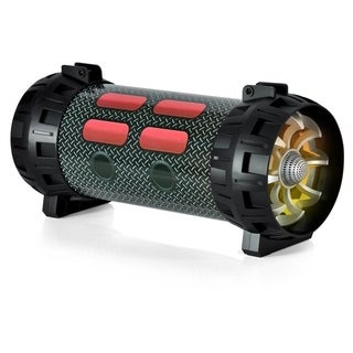 Pyle Portable Bluetooth BoomBox Black Speaker System