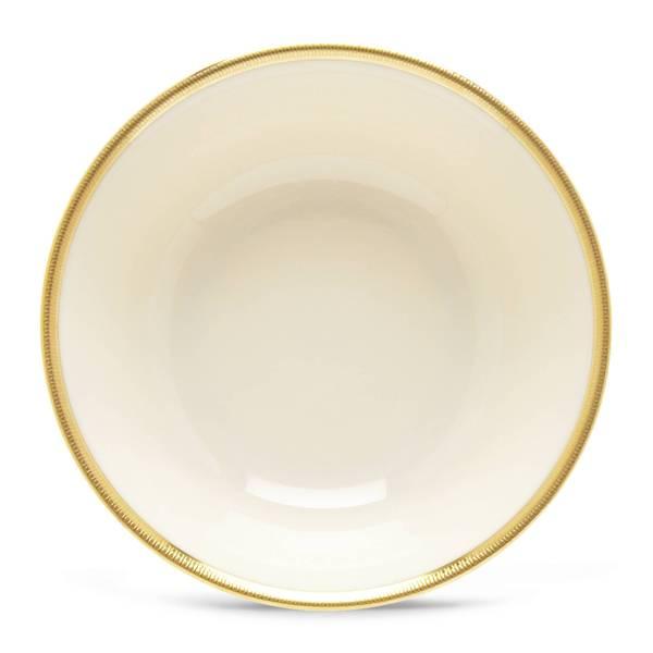 Lenox Tuxedo Ivory/24k Gold China Fruit Bowl