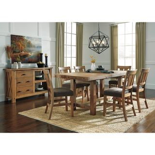 Signature Design by Ashley Tamilo Brown Dining Table with Chairs