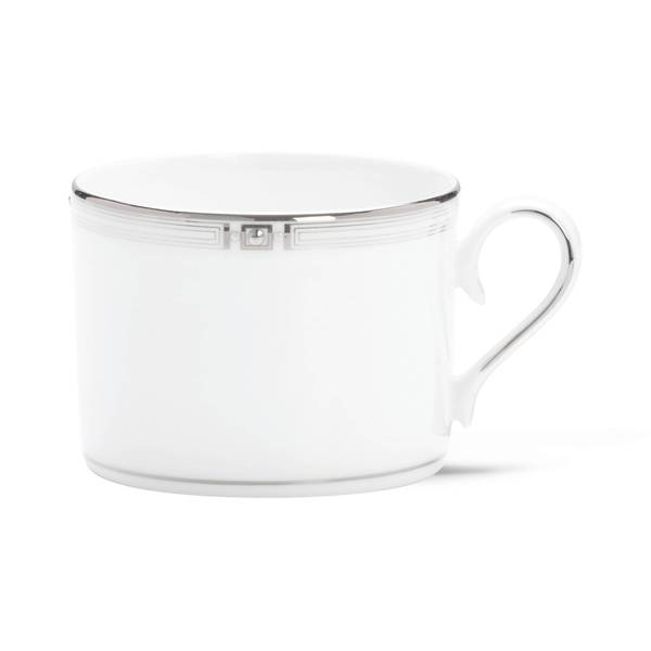 Lenox Westerly Platinum Silver China Can Cup 19507446