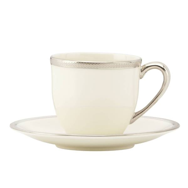 Lenox Tuxedo Platinum Demitasse Cup and Saucer 19507462