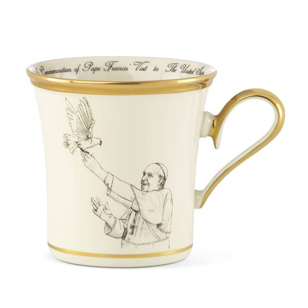 Pope Francis Philadelphia 2015 Commemorative Mug