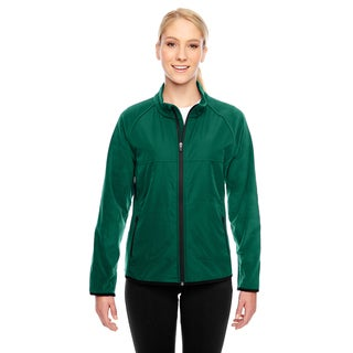 Pride Women's Green Polyester Fleece Jacket