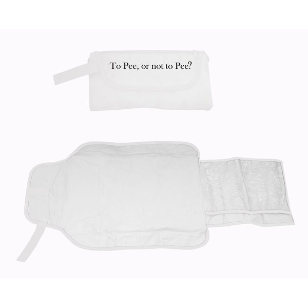 Silly Souls to Pee or Not to Pee Baby Diaper Clutch Changing Bag