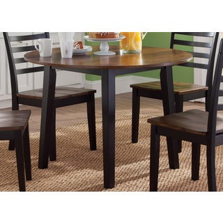 Cafe Back and Cherry Round Dinette Table
