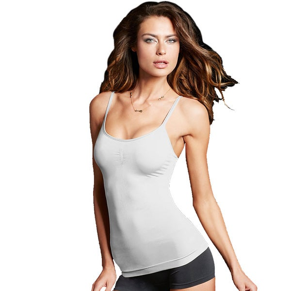 Maidenform Women's Seamless White Camisole