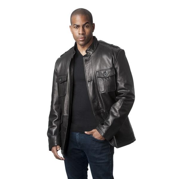 Wilda Leather Men's Leather Jacket 19510336
