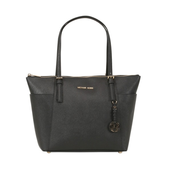 Michael Kors Black Large Jet Set East/West Tote Bag