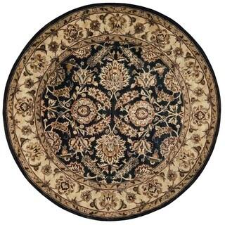 Nourison Jaipur Black Area Rug (6' Round)