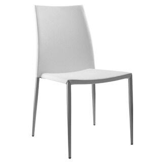 Sandra White Dining Chair