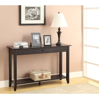 Convenience Concepts American Heritage Console Table with drawer