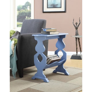 Convenience Concepts American Heritage Willow End Table with Magazine Rack
