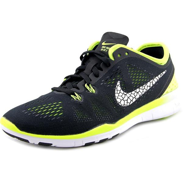 Nike Women's Free 5.0 TR Fit 5 Brthe Black Mesh Running Shoes