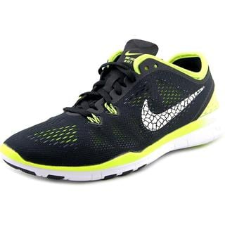 Nike Women's Free 5.0 TR Fit 5 Brthe Black Mesh Running Shoes