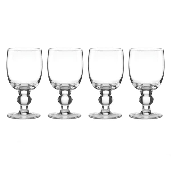 Lenox Tuscany Classics Clear Crystal Casual Goblets (Pack of 4)