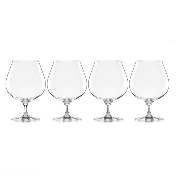 Lenox Tuscany Classics Clear Crystal Brandy Glasses (Pack of 4)