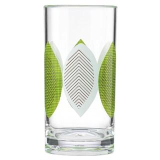 Dansk Burbs Multicolor Plastic/Acrylic Hiball Glass