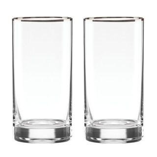 Lenox Timeless Platinum Hiball Glass