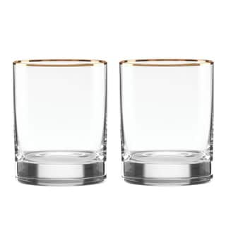 Lenox Timeless Gold Double Old-fashion Glass