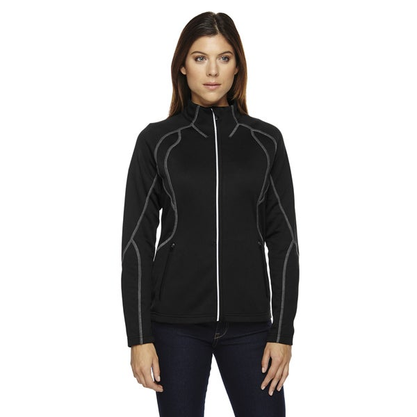 Gravity Women's Performance Black Polyester Fleece Jacket