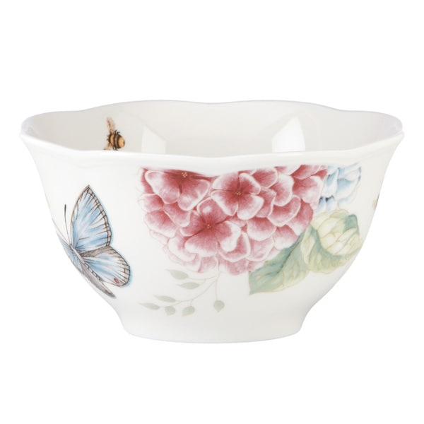 Lenox Butterfly Meadow Hydrangea White Porcelain Rice Bowl Glassware and Tableware Deals  sc 1 st  ShopFest & Hydrangea Plates OR Bowls Hydrangea Dinnerware tableware-glassware