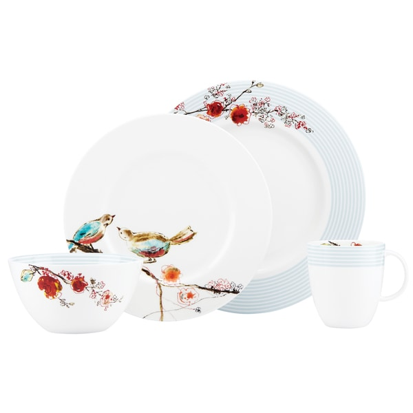 Lenox Chirp Stripe Multicolored China 4-piece Place Setting 19534112